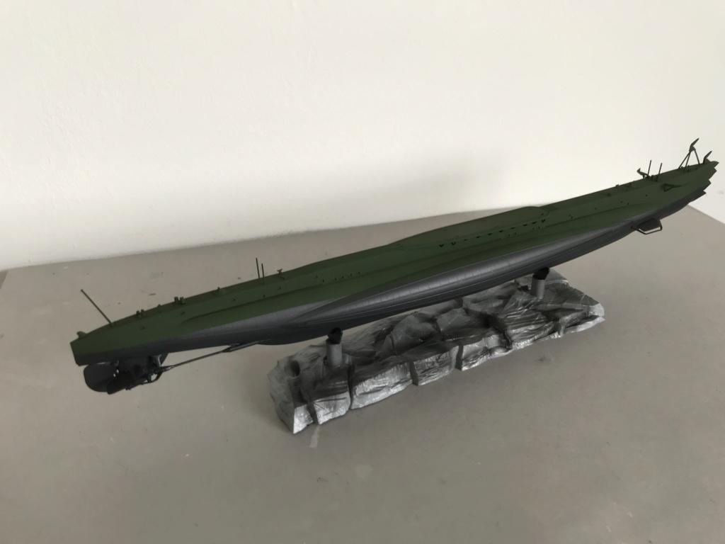 Sous marin Soviétique  SHCHUKA  classe X   (ZVEDA  1/144)    FINI Img_2628