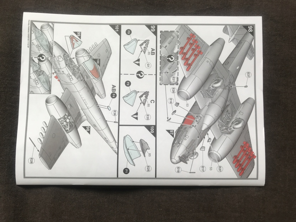 GLOSTER METEOR F8  ( AIRFIX  1/48)  FINI Img_2722