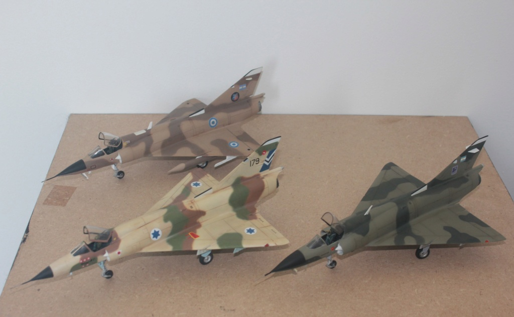 Mirage III CJ  F.A.A  Argentina (HELLER  1/48) Img_4322