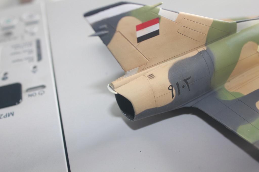 Mirage 5 SDE Egypt ( rénovation Heller 1/48) Img_4429