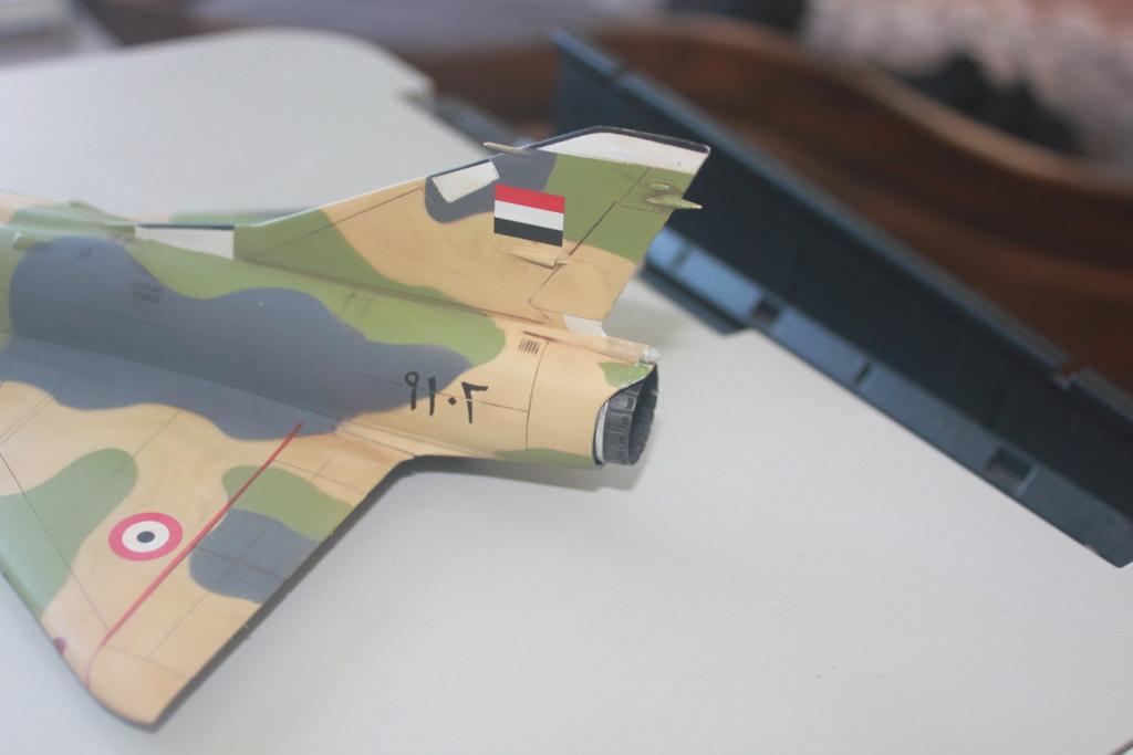Mirage 5 SDE Egypt ( rénovation Heller 1/48) Img_4511