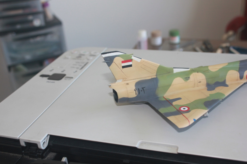 Mirage 5 SDE Egypt ( rénovation Heller 1/48) Img_4512