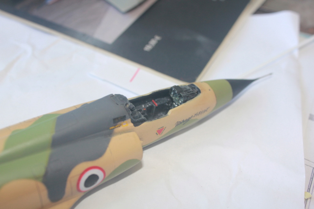 Mirage 5 SDE Egypt ( rénovation Heller 1/48) Img_4514
