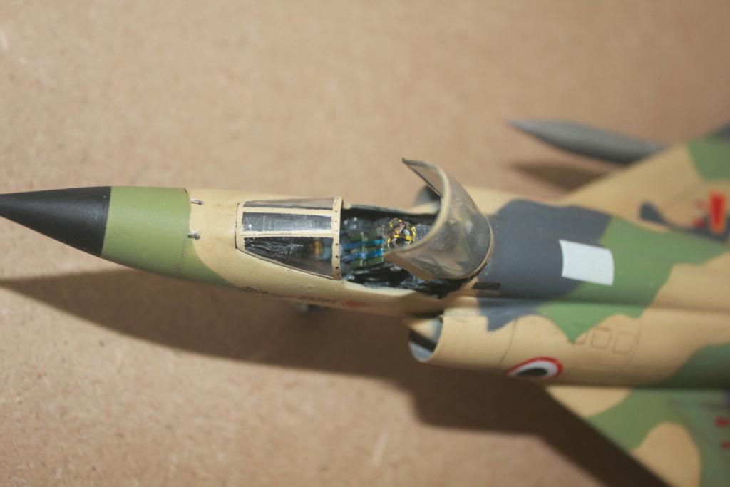 Mirage 5 SDE Egypt ( rénovation Heller 1/48) Img_4516