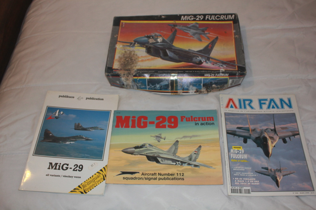 Défi 2020 - MiG 29 ( Monogram 1/48) *** Terminé en pg 5 Img_4927