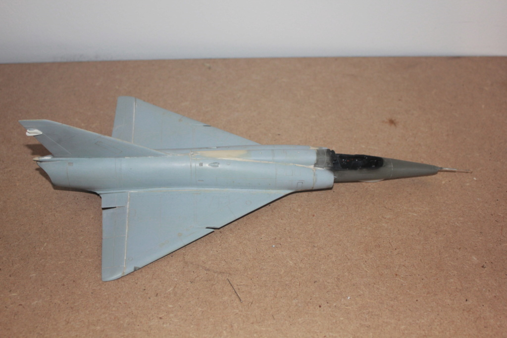 "Mirage III RZ   (Heller + transkit ""Ouragan M25"" 1/48)  FINI Img_5276"