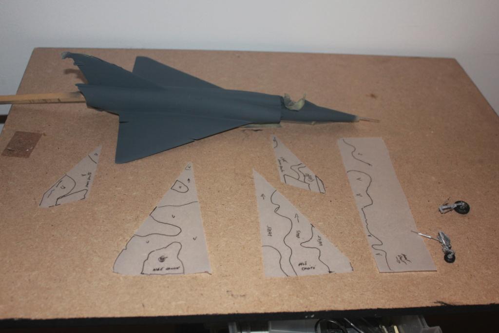 "Mirage III RZ   (Heller + transkit ""Ouragan M25"" 1/48)  FINI Img_5280"