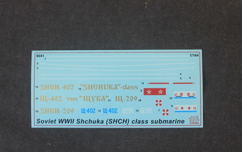 Ouvre-boite  Sous Marin  SHCHUKA class X    ( ZVEDA   1/144) Img_6449