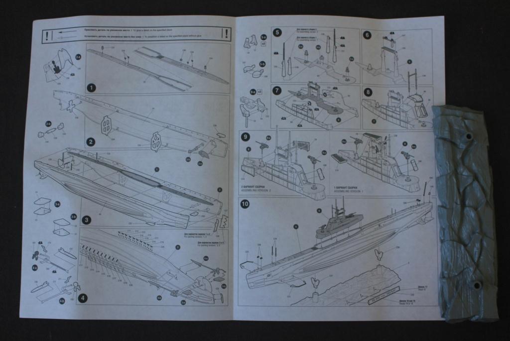Ouvre-boite  Sous Marin  SHCHUKA class X    ( ZVEDA   1/144) Img_6450