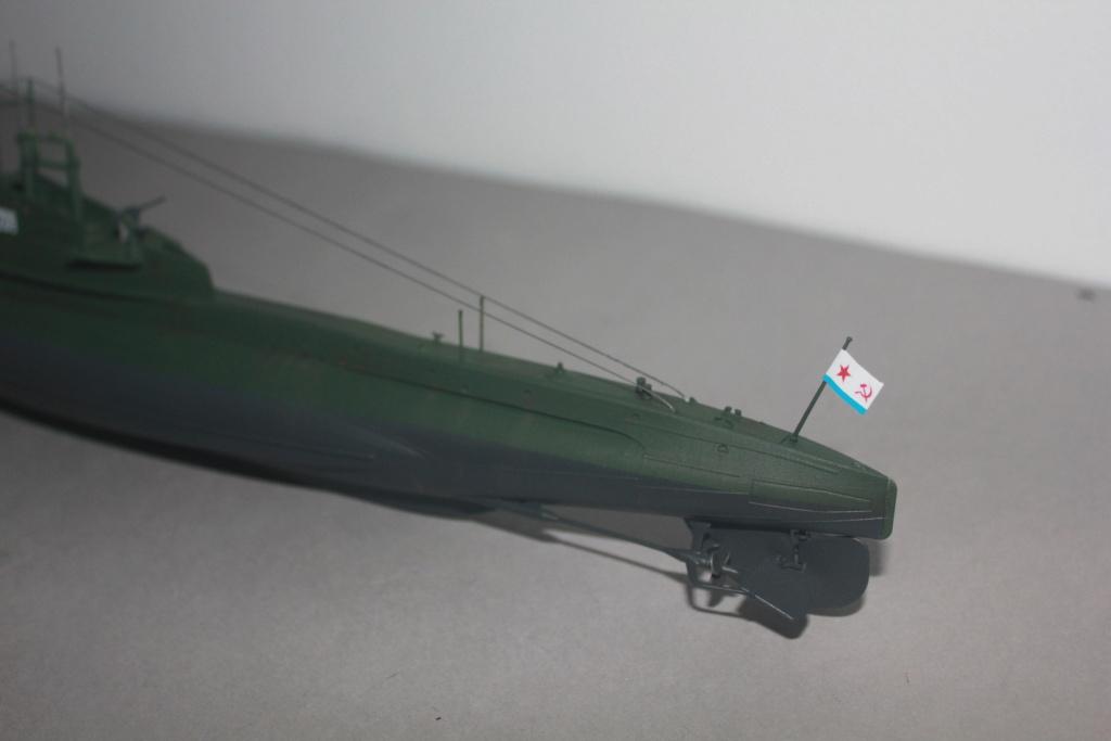 Sous marin Soviétique  SHCHUKA  classe X   (ZVEDA  1/144)    FINI - Page 2 Img_6510