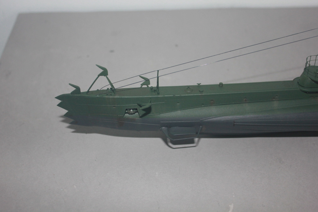Sous marin Soviétique  SHCHUKA  classe X   (ZVEDA  1/144)    FINI - Page 2 Img_6511
