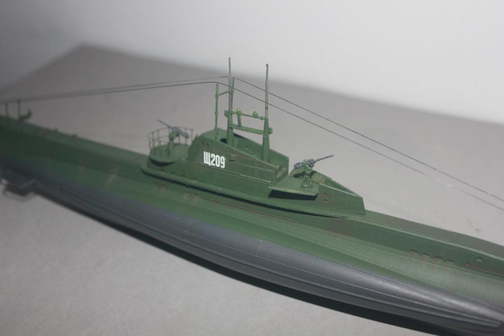 Sous marin Soviétique  SHCHUKA  classe X   (ZVEDA  1/144)    FINI - Page 2 Img_6512