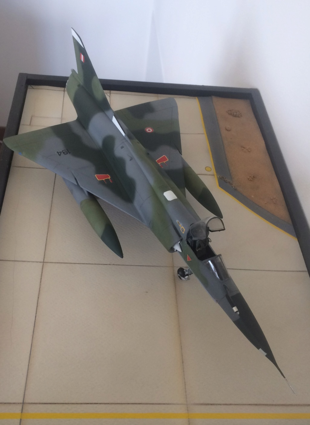 Mirage 5 p4 Peru  ( Heller 1/48 ... revisité) Img_6815
