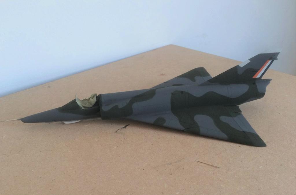 "Mirage III RZ   (Heller + transkit ""Ouragan M25"" 1/48)  FINI Img_6915"