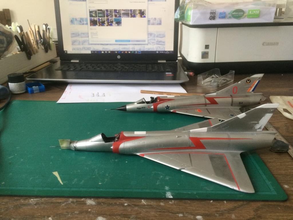 Mirage III CZ(s) ( Hobbyboss + Heller 1/48)  FINI Img_7211
