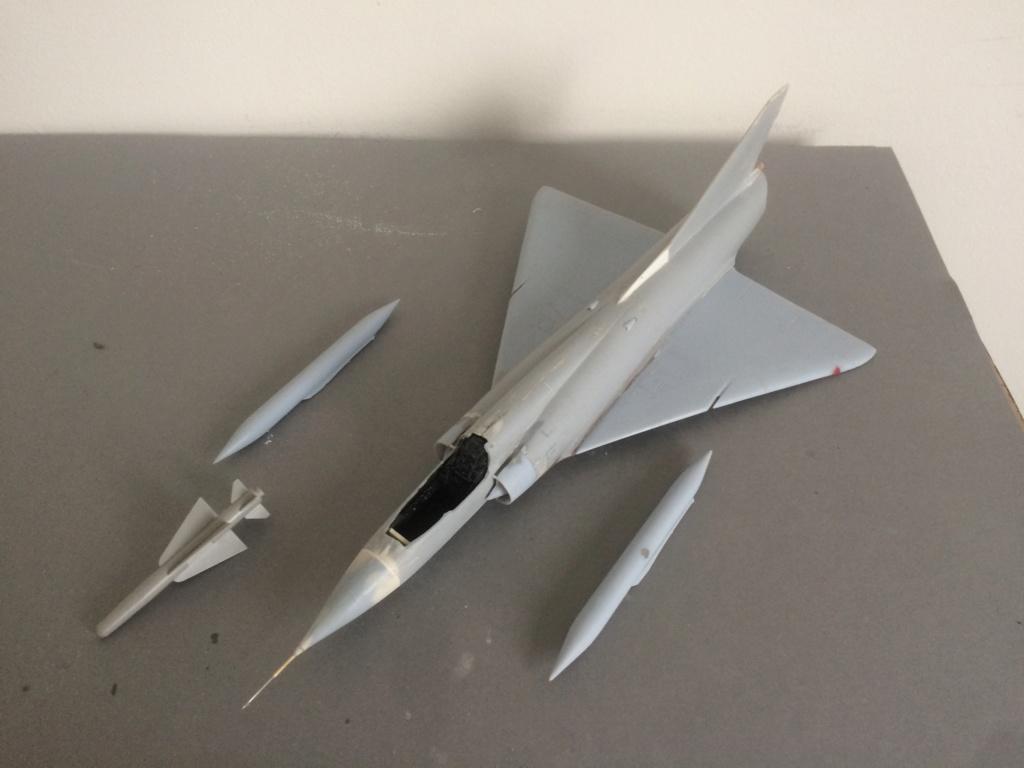 Mirage III EBR  ( Heller + FM 1/48) FINI - Page 2 Img_7339