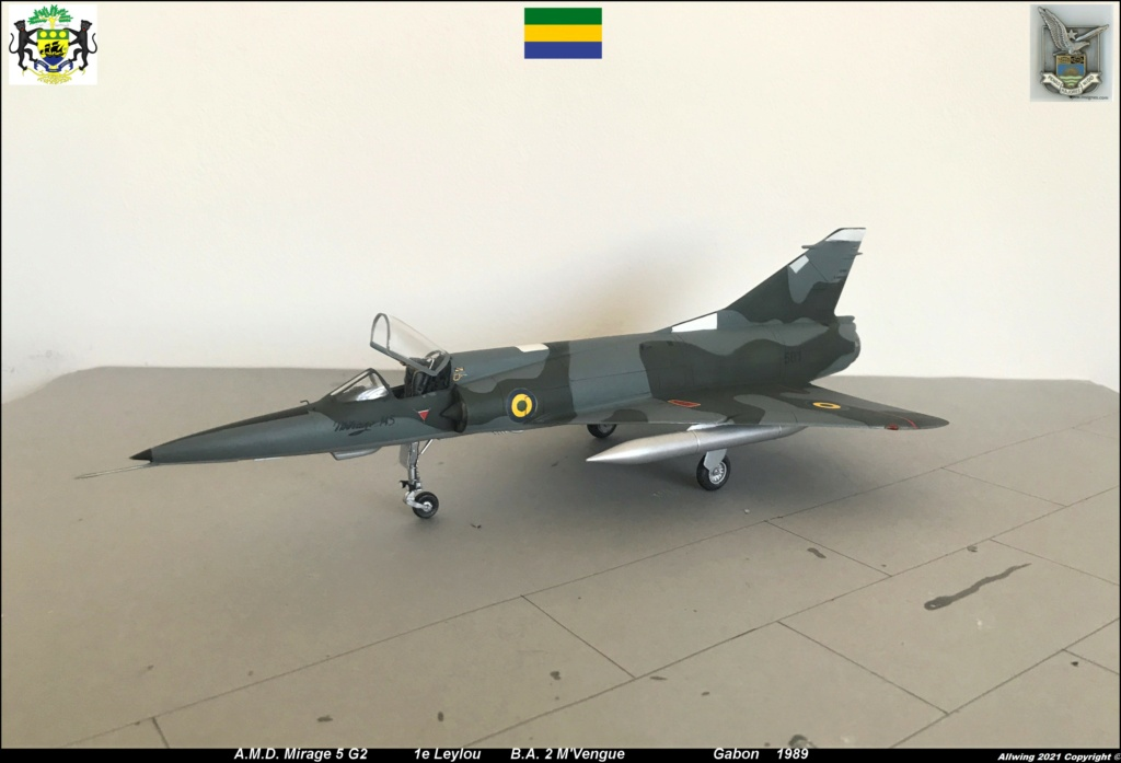 Mirage 5 G2  (HELLER 1/48)   FINI - Page 4 M5g110