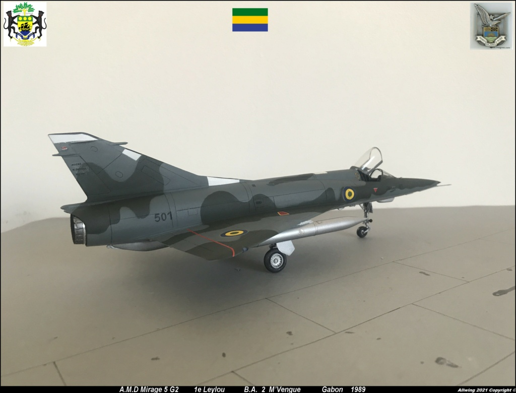 Mirage 5 G2  (HELLER 1/48)   FINI - Page 4 M5g210
