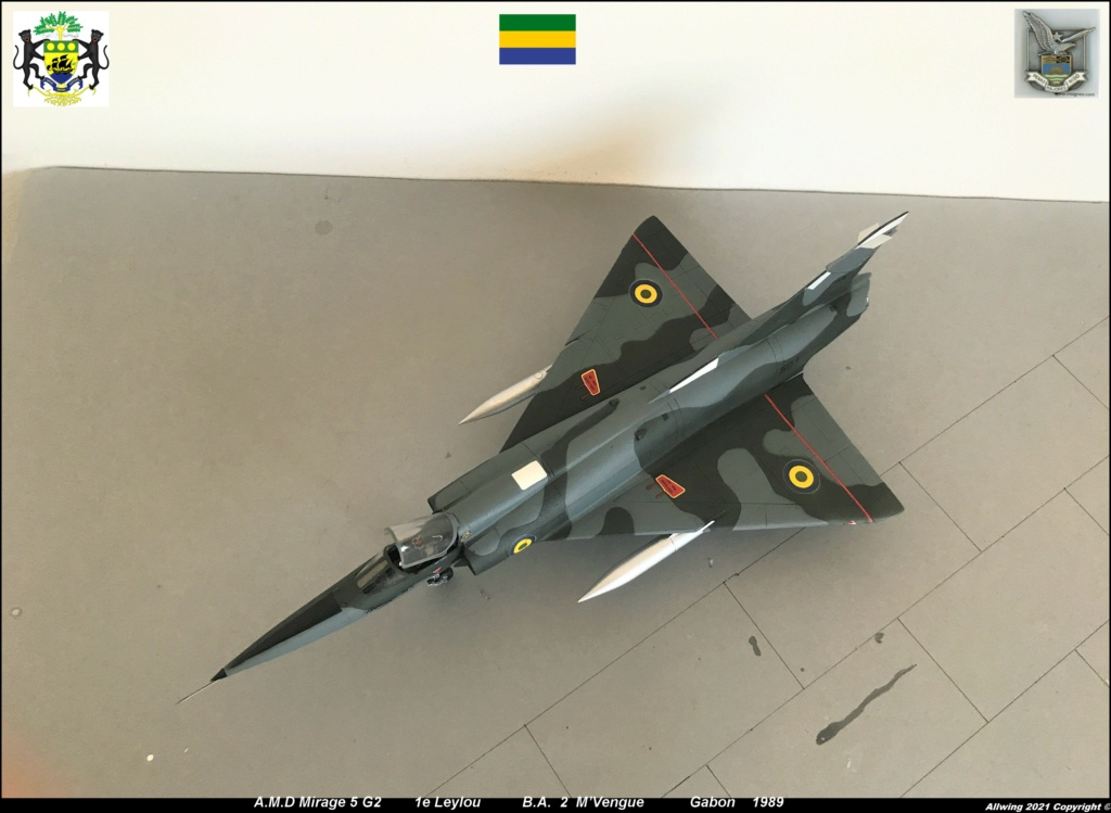 Mirage 5 G2  (HELLER 1/48)   FINI - Page 4 M5g310
