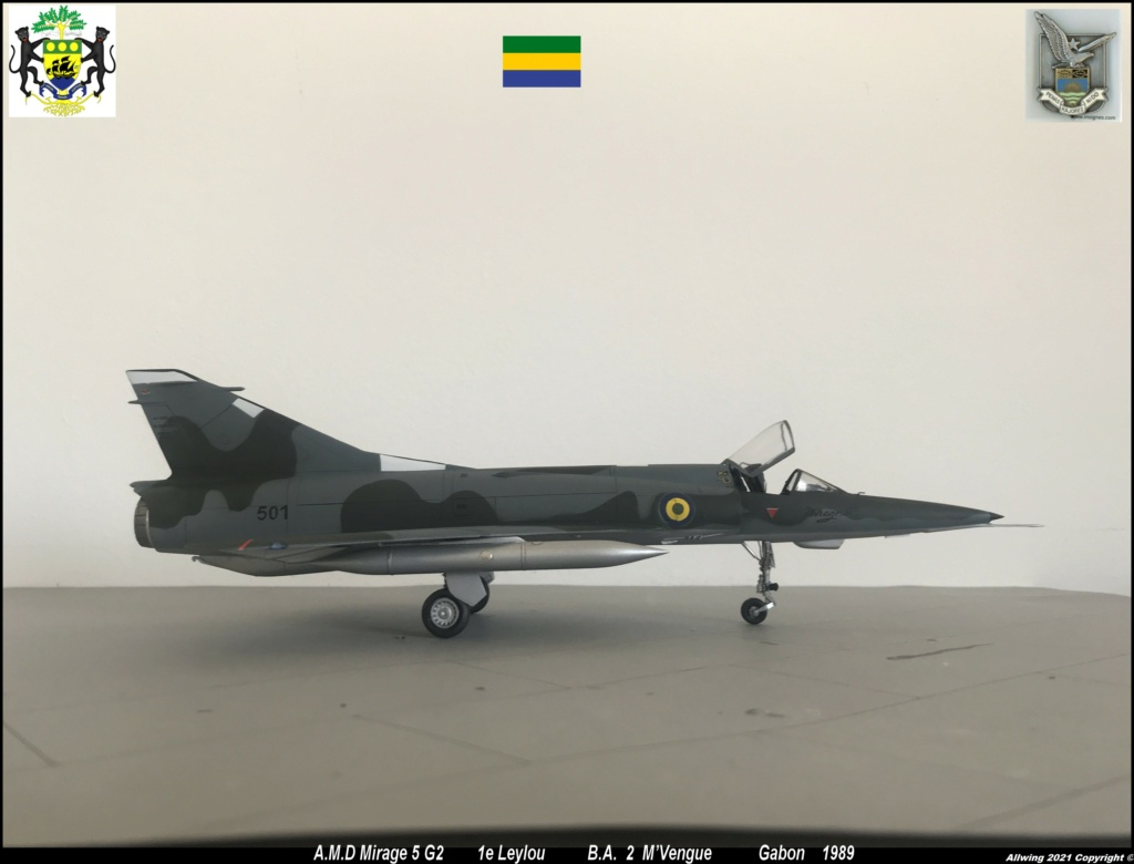 Mirage 5 G2  (HELLER 1/48)   FINI - Page 4 M5g610