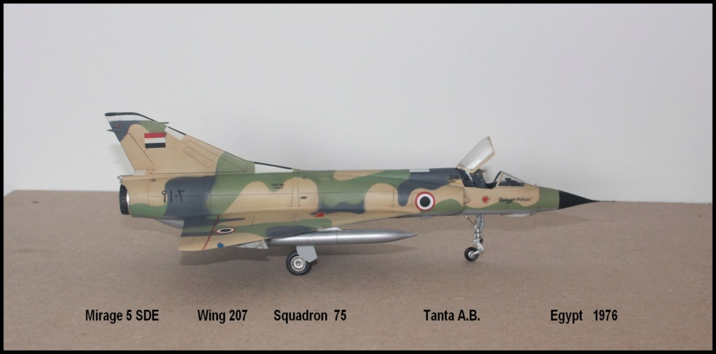 Mirage 5 SDE Egypt ( rénovation Heller 1/48) M5sde110