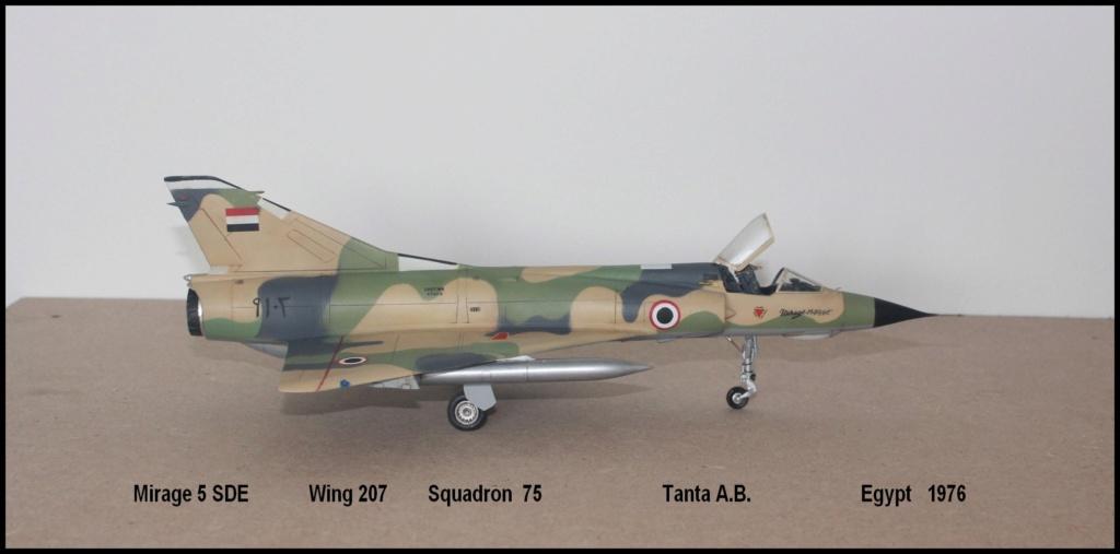 Mirage 5 SDE Egypt ( rénovation Heller 1/48) M5sde110