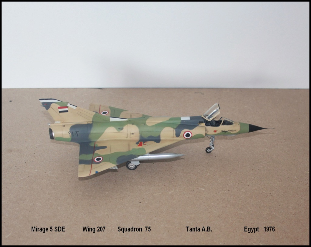 Mirage 5 SDE Egypt ( rénovation Heller 1/48) M5sde210