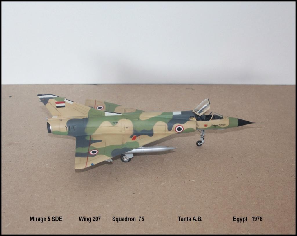 Mirage 5 SDE Egypt ( rénovation Heller 1/48) M5sde210