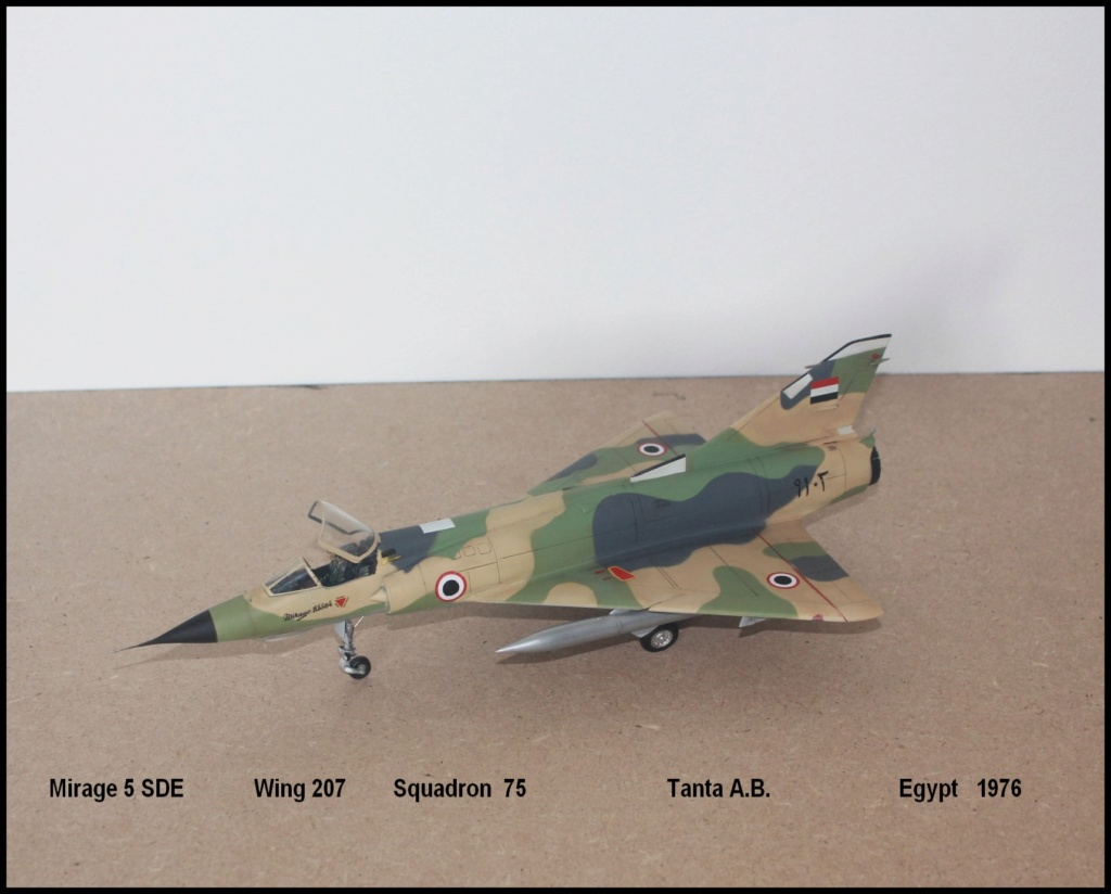 Mirage 5 SDE Egypt ( rénovation Heller 1/48) M5sde310