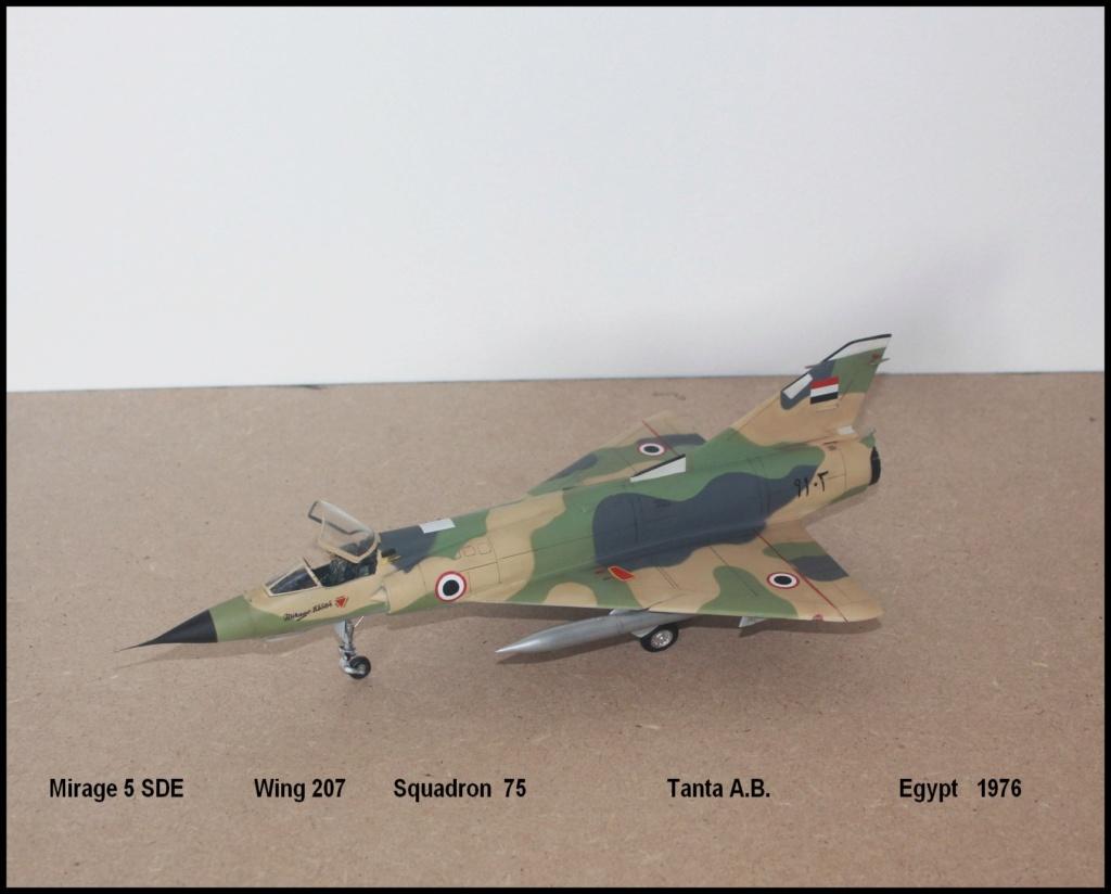 Mirage 5 SDE Egypt ( rénovation Heller 1/48) M5sde310