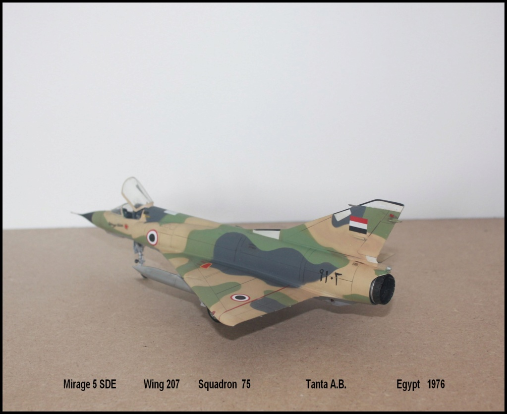 Mirage 5 SDE Egypt ( rénovation Heller 1/48) M5sde410