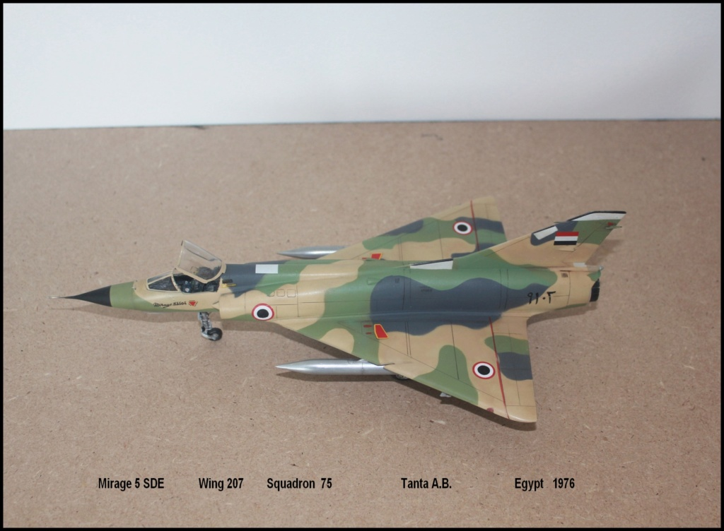 Mirage 5 SDE Egypt ( rénovation Heller 1/48) M5sde610