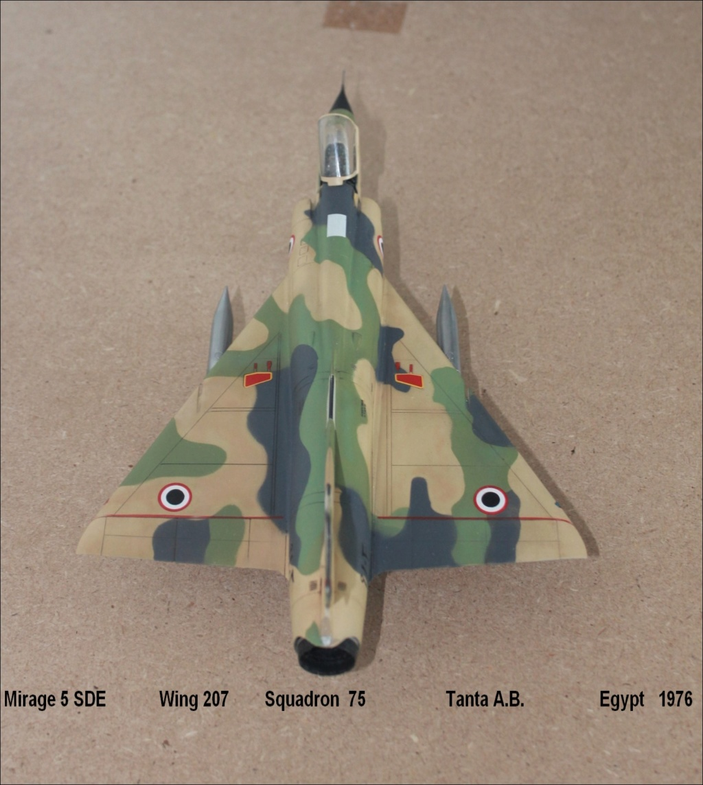 Mirage 5 SDE Egypt ( rénovation Heller 1/48) M5sde710