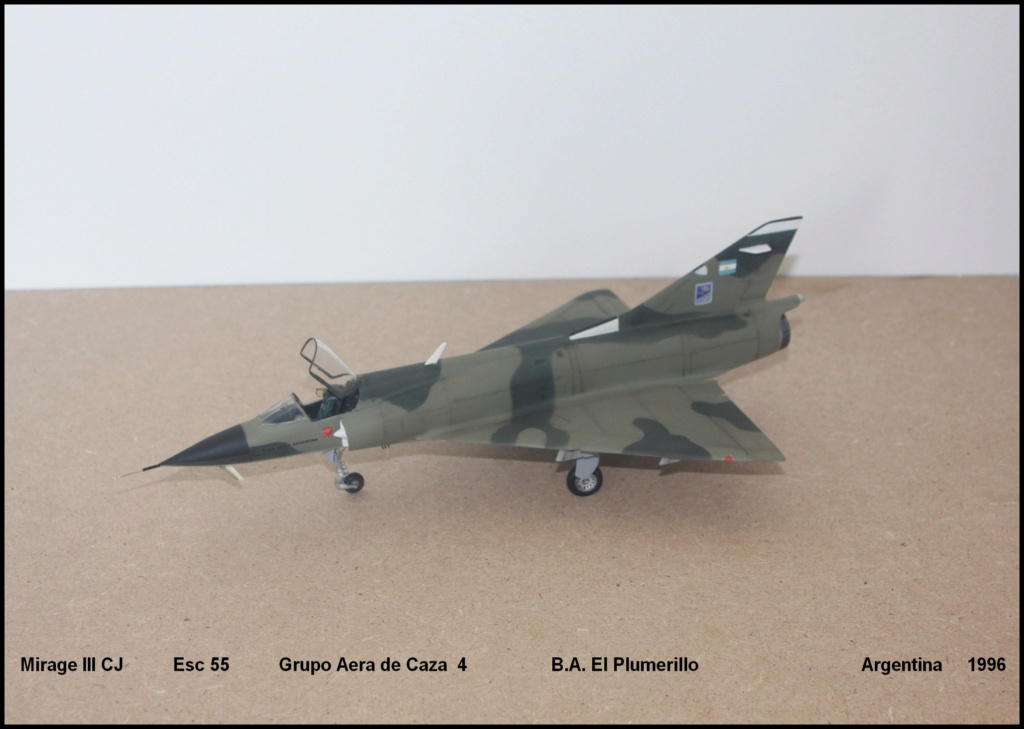 Mirage III CJ  F.A.A  Argentina (HELLER  1/48) Mcj110