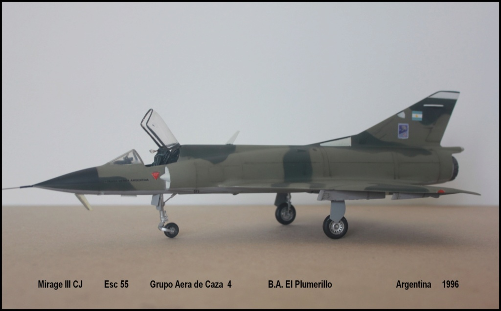 Mirage III CJ  F.A.A  Argentina (HELLER  1/48) Mcj210
