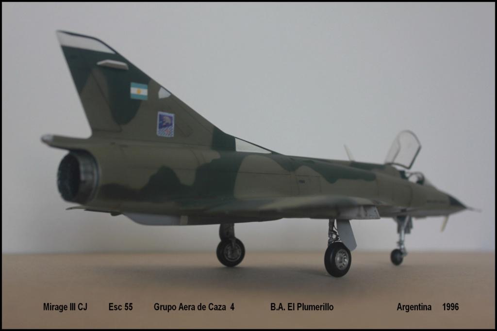 Mirage III CJ  F.A.A  Argentina (HELLER  1/48) Mcj310