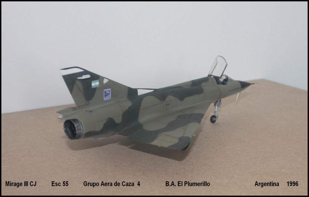 Mirage III CJ  F.A.A  Argentina (HELLER  1/48) Mcj410
