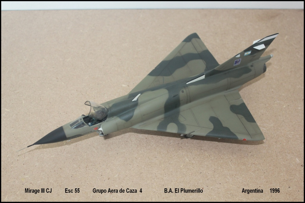 Mirage III CJ  F.A.A  Argentina (HELLER  1/48) Mcj510