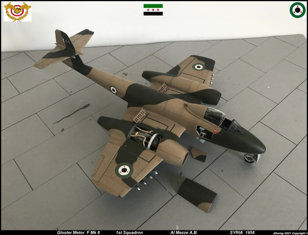 GLOSTER METEOR F8  ( AIRFIX  1/48)  FINI - Page 4 Meteor12