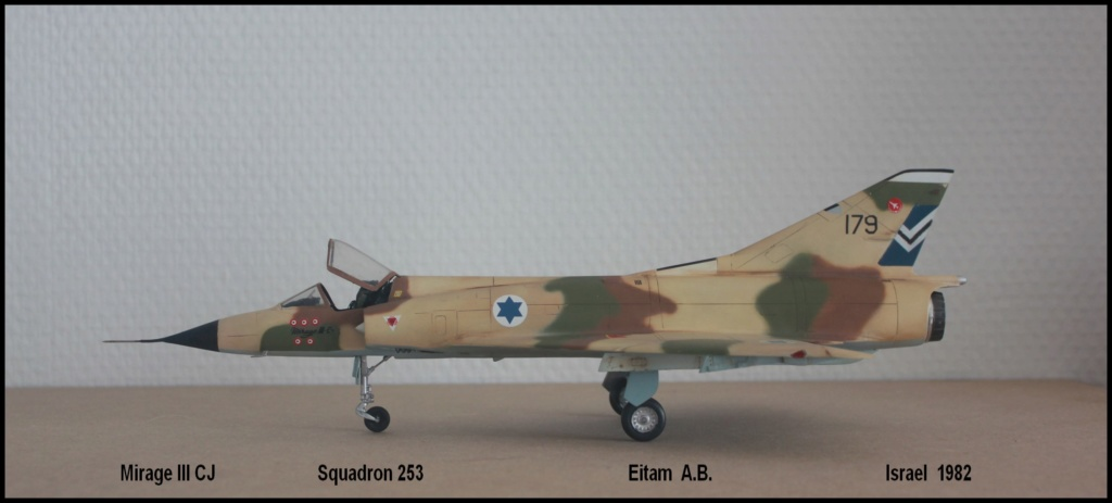 Mirage III CJ  SHAHAK   I.D.F Miiicj10