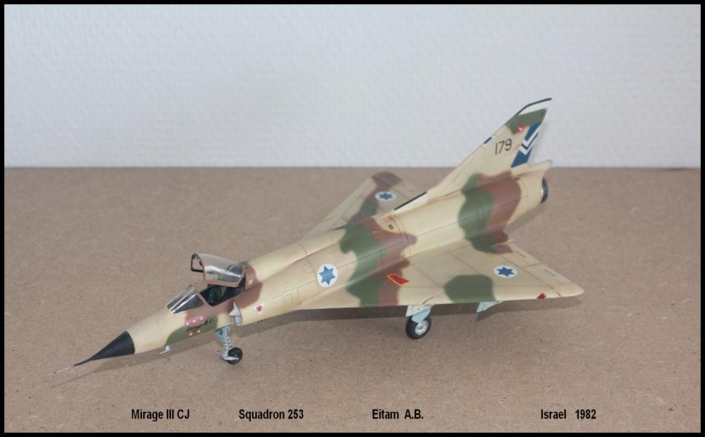 Mirage III CJ  SHAHAK   I.D.F Miiicj11
