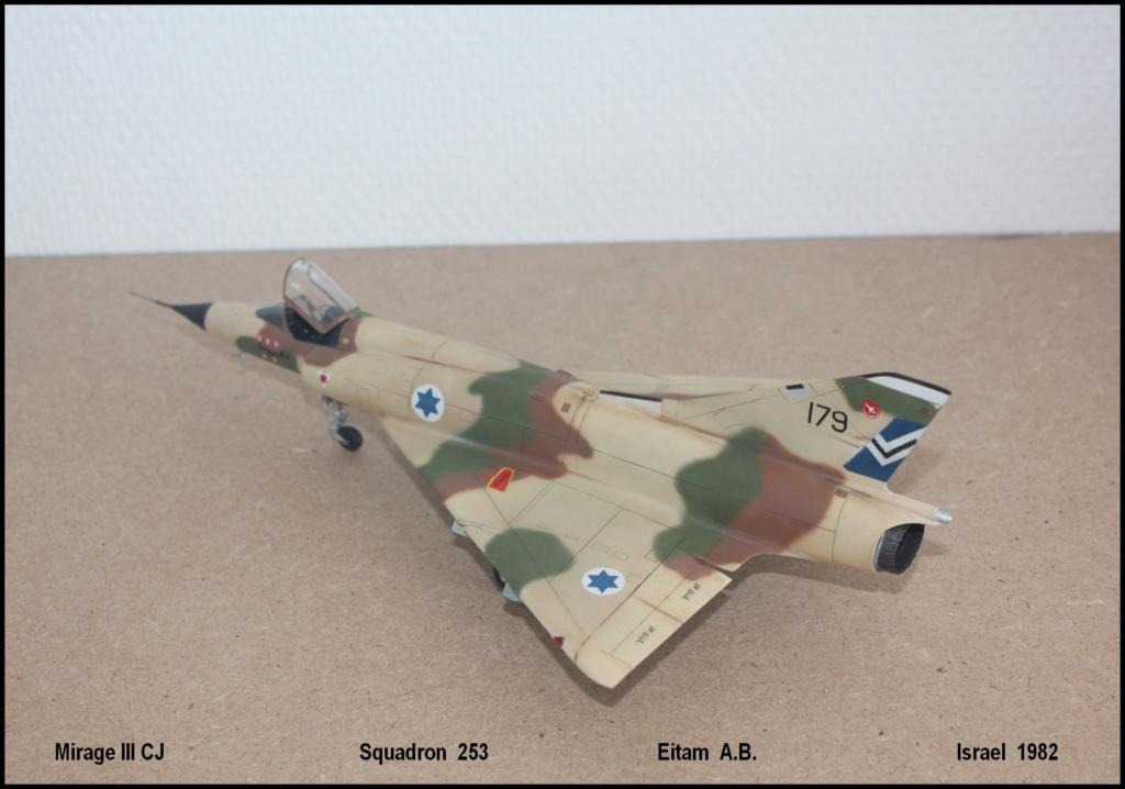 Mirage III CJ  SHAHAK   I.D.F Miiicj12
