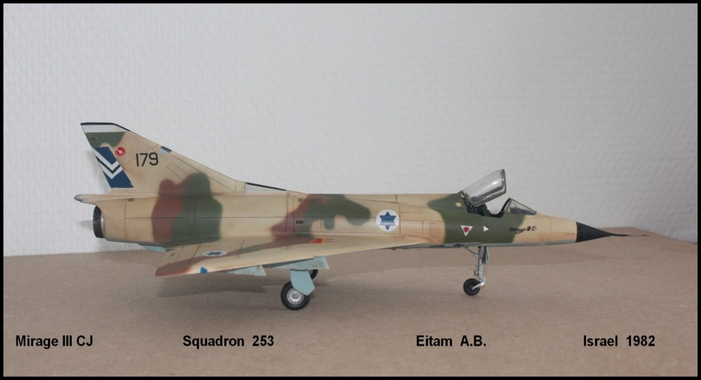 Mirage III CJ  SHAHAK   I.D.F Miiicj13