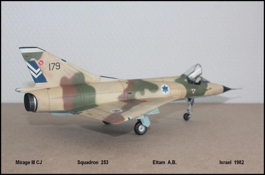 Mirage III CJ  SHAHAK   I.D.F Miiicj14