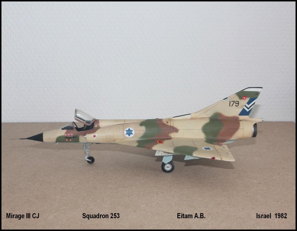 Mirage III CJ  SHAHAK   I.D.F Miiicj15