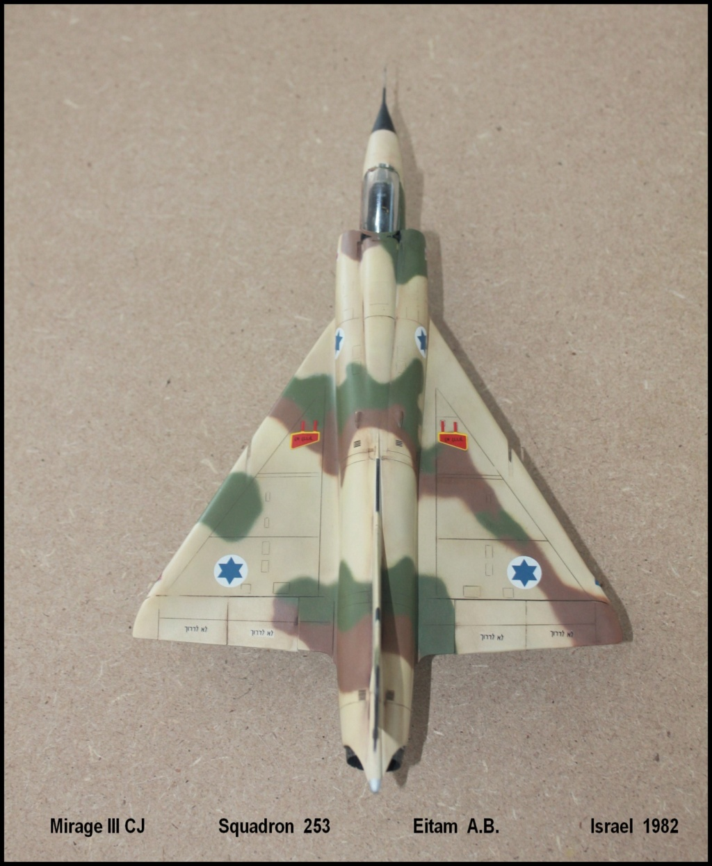 Mirage III CJ  SHAHAK   I.D.F Miiicj16