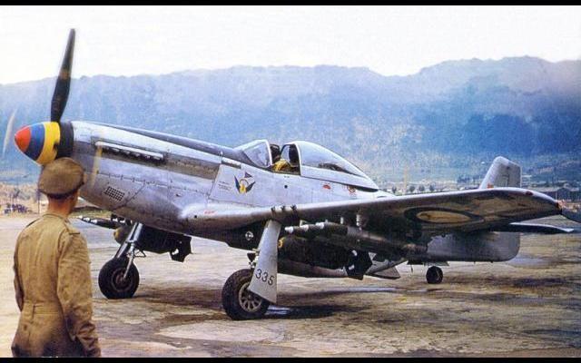 F 51 D  Un Sud Africain en Corée... Mornem10