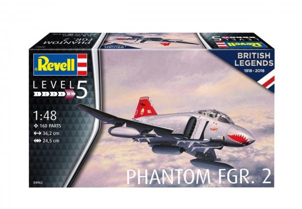 F4 K  BRITISH PHANTOM    (Revell  1/48) Revell10