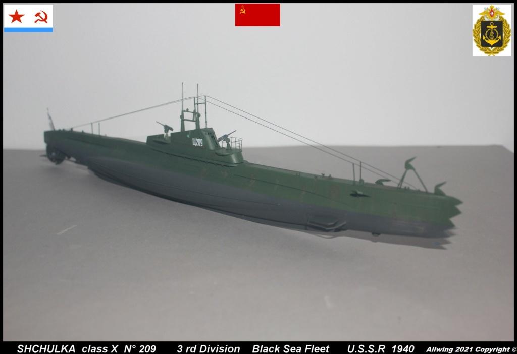 Sous marin Soviétique  SHCHUKA  classe X   (ZVEDA  1/144)    FINI - Page 2 Sch110
