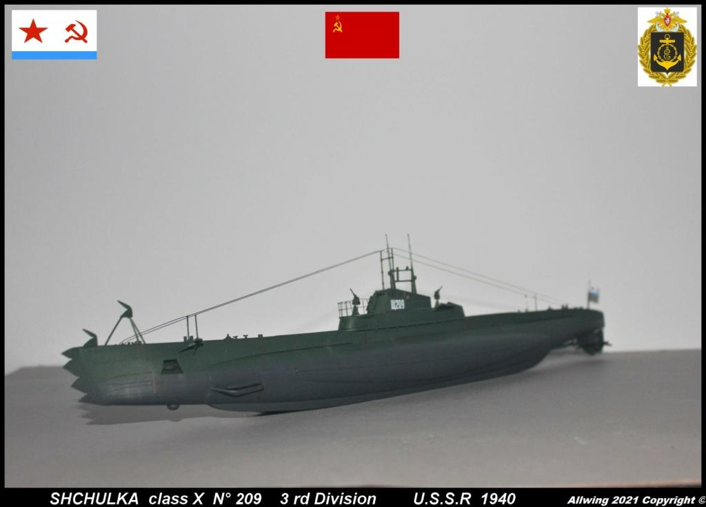 Sous marin Soviétique  SHCHUKA  classe X   (ZVEDA  1/144)    FINI - Page 2 Sch210